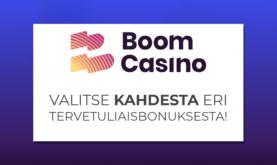 Upouusi ja vaikuttava Boom Casino
