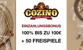 Cozino, der Wilde Westen und Cowboys!