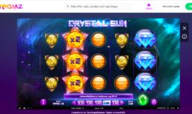 Spela Crystal Sun på Dreamz Casino!