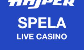 Roa dig med snabba livespel hos Hajper Casino