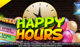 Happy Hours at Mega Reel Casino