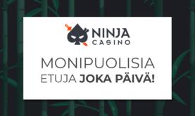 Ninja Casinon monipuoliset kampanjat