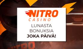 Nitro Casinon päivittäiset palkinnot