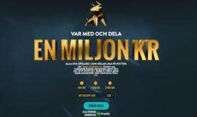 Dela på En Miljon Kronor i Juni