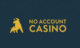 No Account Casino – Koe kasinopelit helposti ja vaivattomasti!