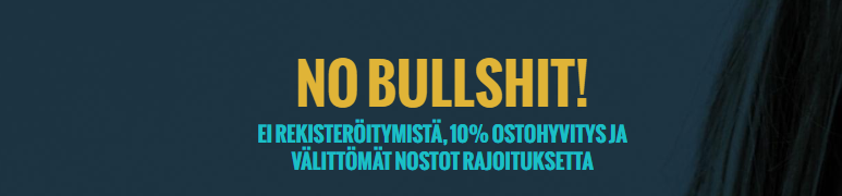 no bullshit casino - No Account