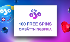 100 Free Spins utan Omsättningskrav!