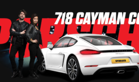 Porsche 718 Coupe Raffle at Spin Rider Casino