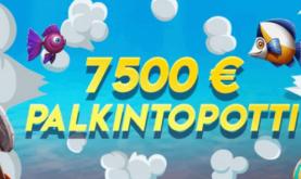 Jaossa jopa 7500 euron palkintopotti!