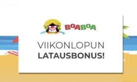 700€ bonus viikonloppuun